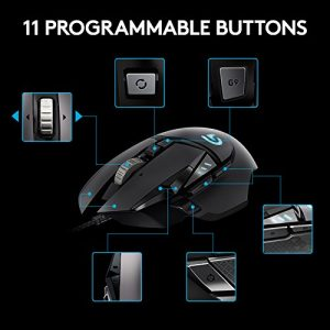 Une souris gaming comportant 11 boutons programmables